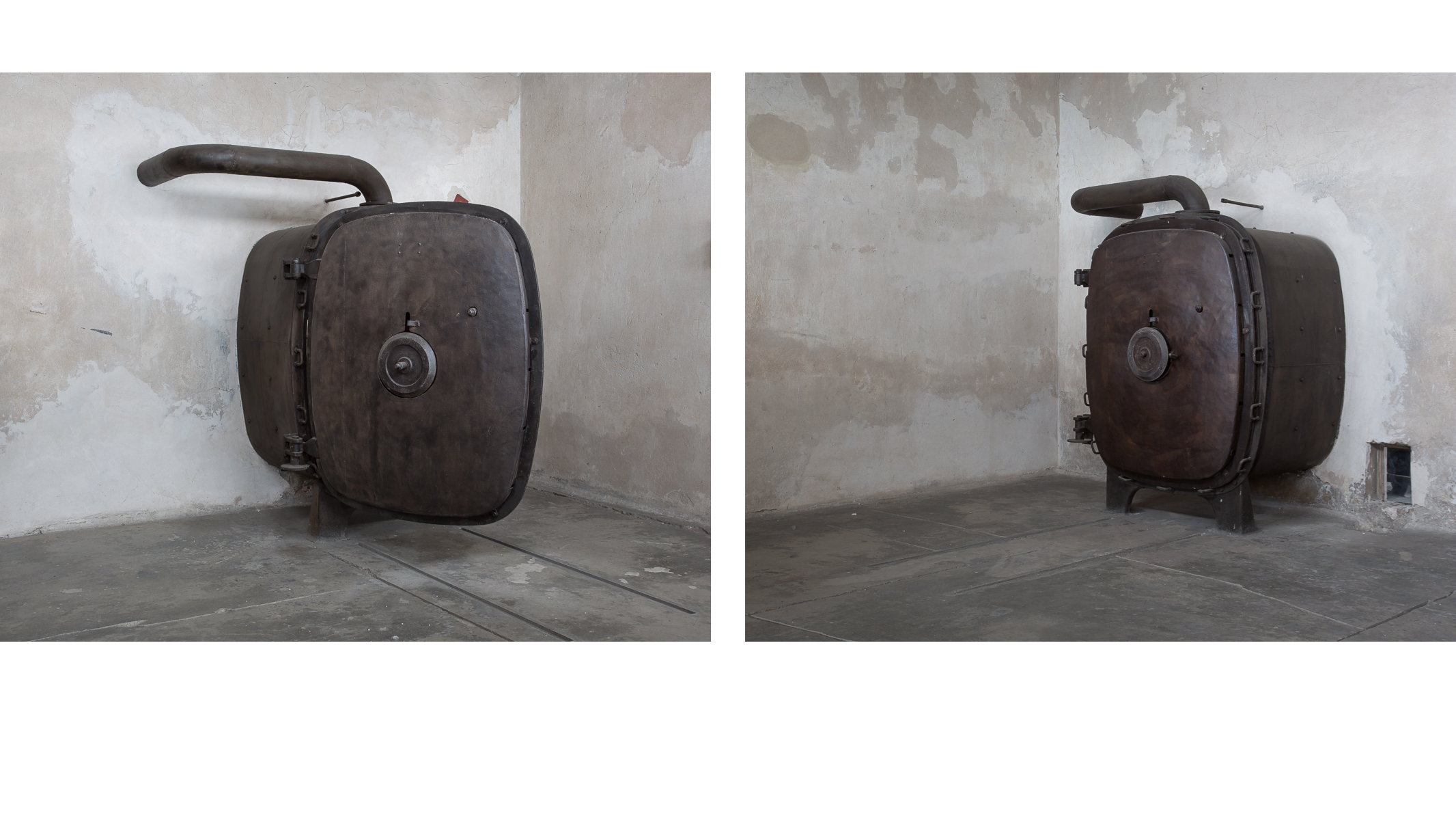 In Search of Amnesia - Decontamination Units (diptych)