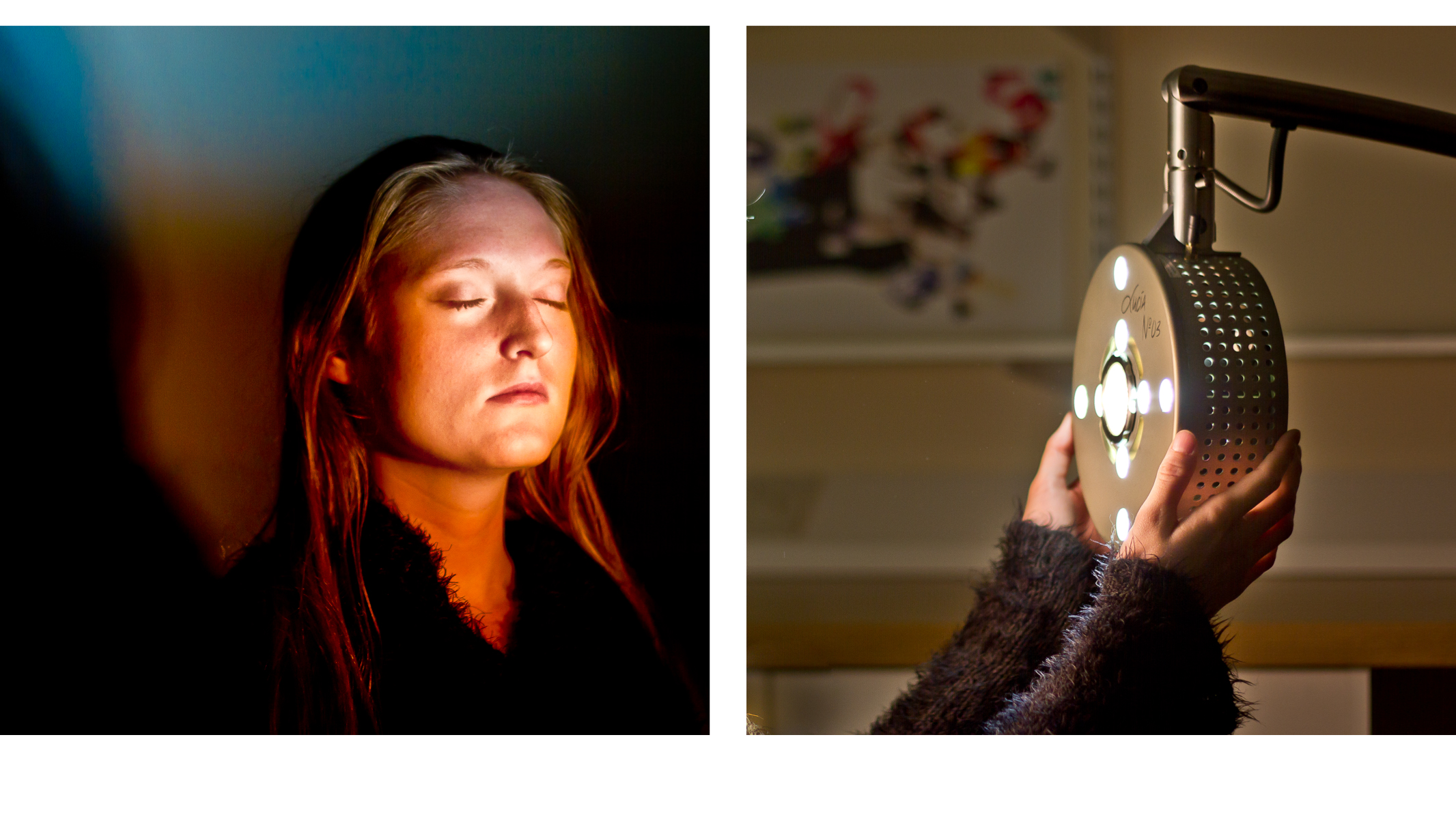 Thresholds of the NMind - Stephanie with Hypnagogic Scanner diptych (high res)