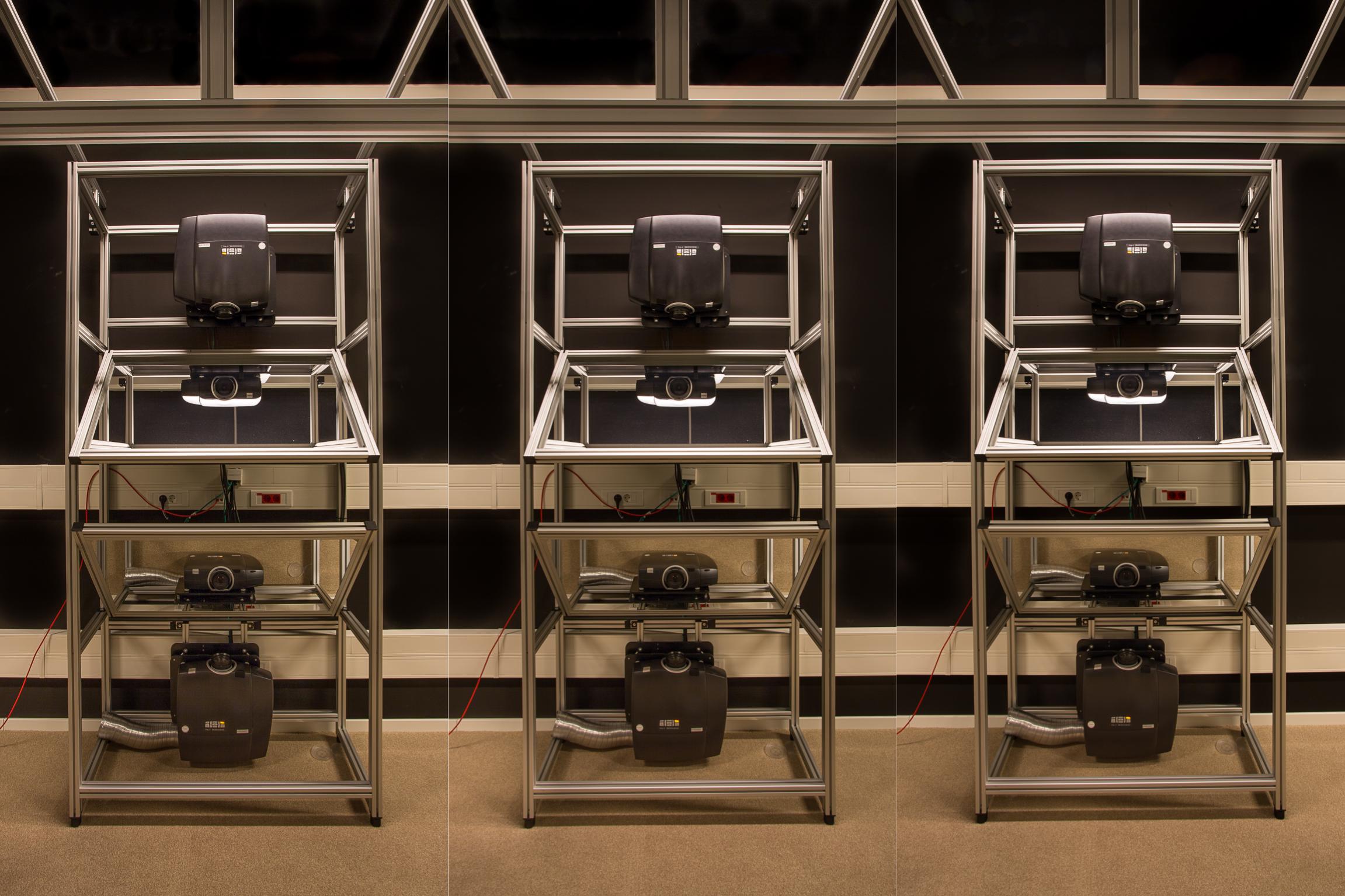 Max Planck VR Projectors x 3