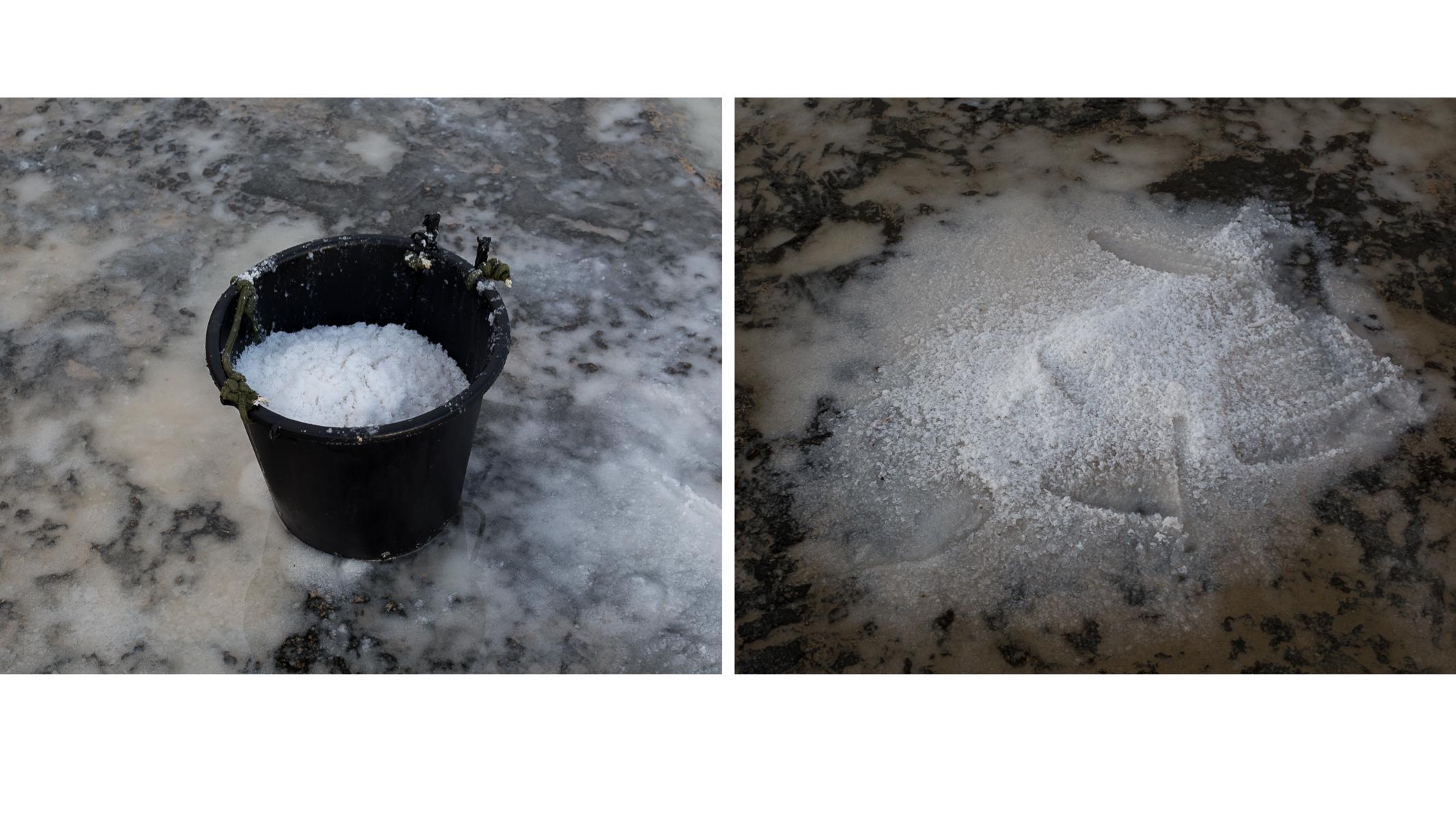 Calypso's Cave ~ Salt Pan Diptych