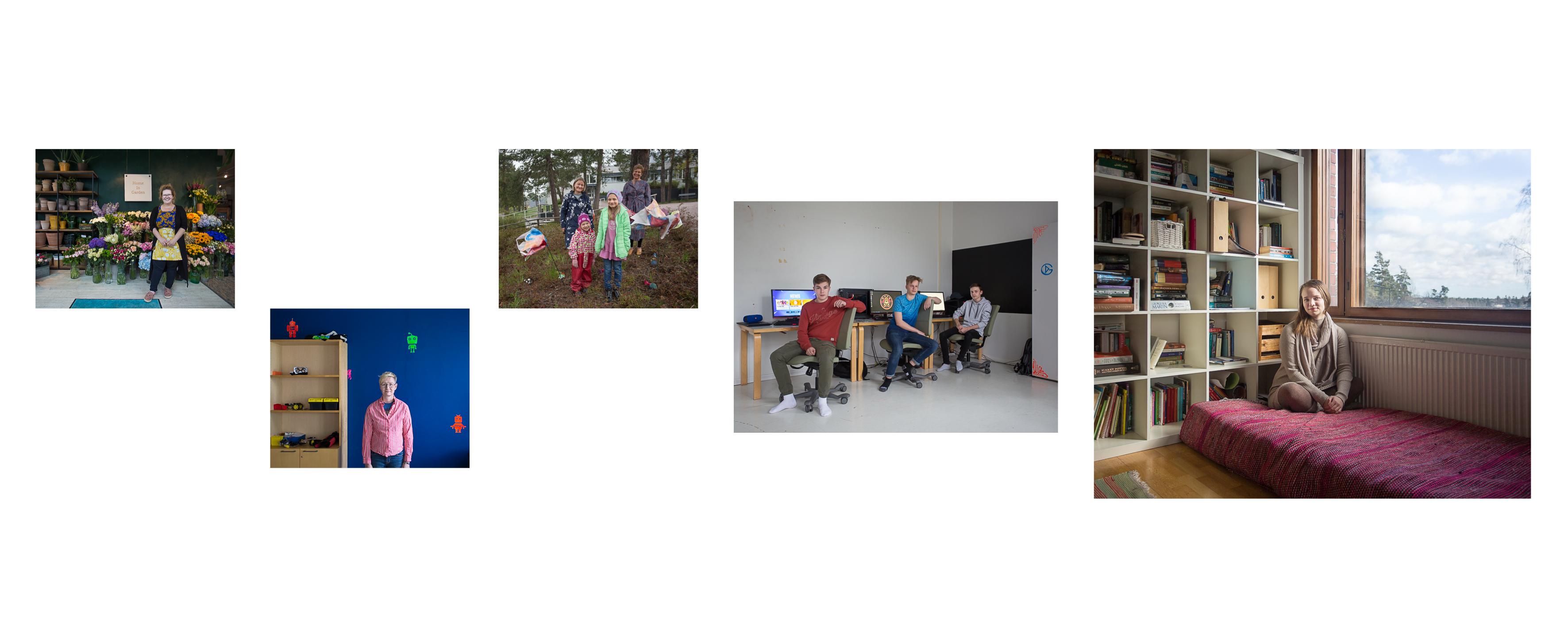 Kaunianen exhibition _ Saga montage 2